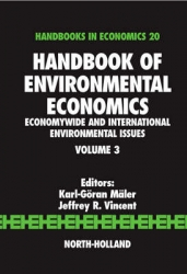 Handbook of environmental economics - Economywide and international environmental issues