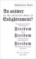 An answer to the question 'What is enlightenment'?