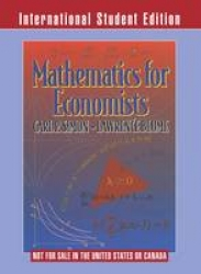 Mathematics for economists
