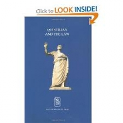 Quintilian and the law