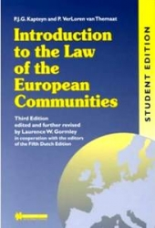 Introduction to the law of the European Communities