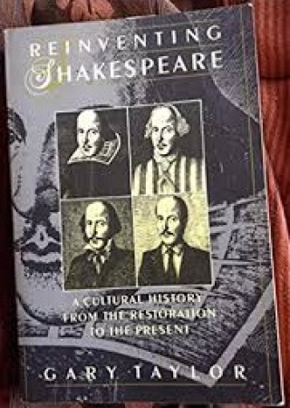 Reinventing Shakespeare